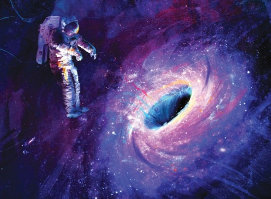According to modern physics, any information about an astronaut entering a black hole - for example, height, weight, hair color - may be lost.  Likewise, information about he object that formed the hole, or any matter and energy entering the hole, may be lost.  This notion violates quantum mechanics, which is why it's known as the 'black hole information paradox.