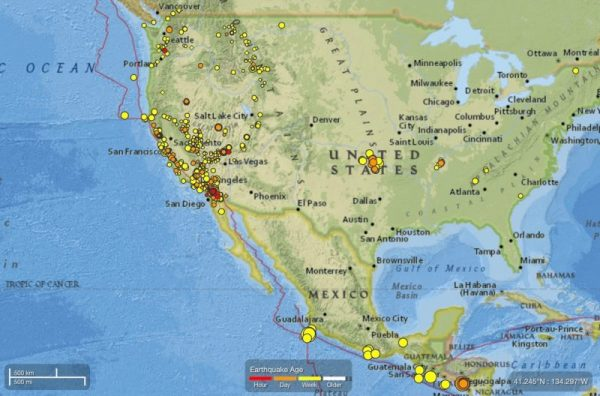 M52 earthquake shakes California Earth EarthSky