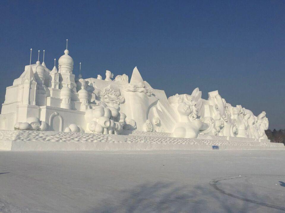 China Holds 33rd Harbin International Ice Festival