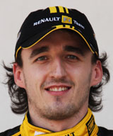 Robert Kubica portrait