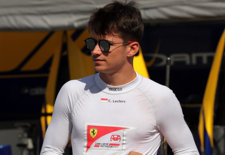 Charles Leclerc, Silverstone 2017