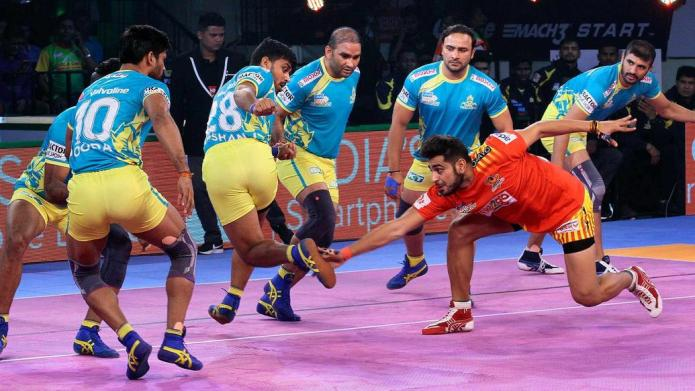 Sachin helps Gujarat with easy victory over Tamil Thalaivas