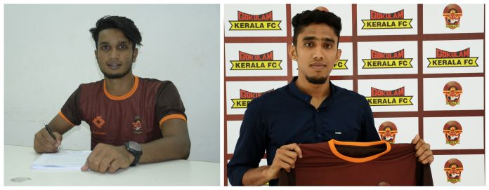 GKFC sign two Kerala youngsters