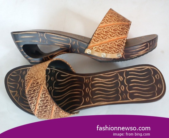 Sorts Of Motif Traditional Kelom Sandals For The Agustusan