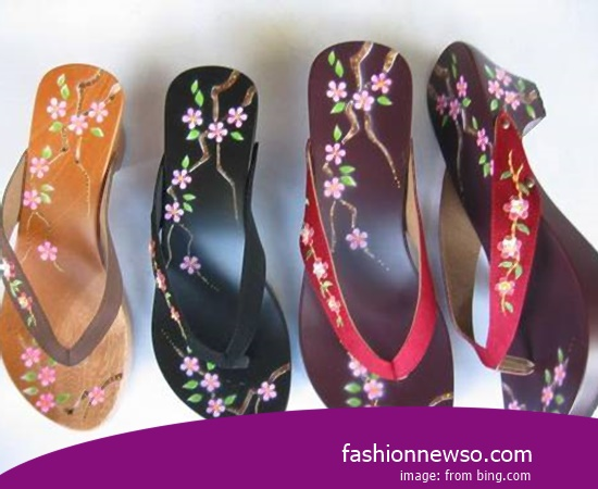 Sorts Of Motif Traditional Sandals Tarumpah Women For Kebaya