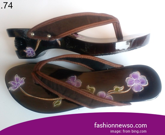 Wholesale Place Traditional Sandals Selop In Province Bangka Belitung Indonesia