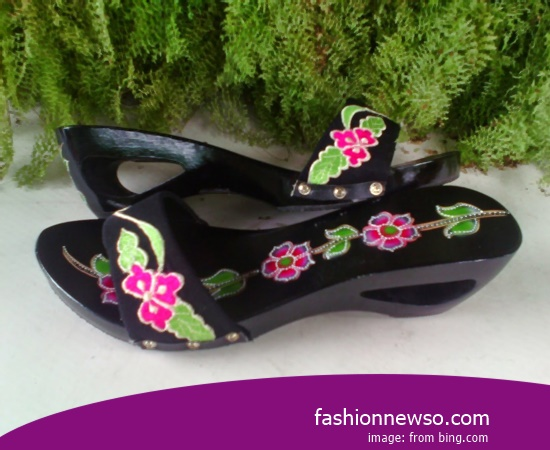 Sorts Of Motif Traditional Sandals Selop The Latest