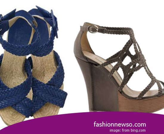 Multiple Of Model Traditional Woven Sandals By Cross Rope