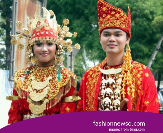 Example Of Design Clothes Traditional Medan