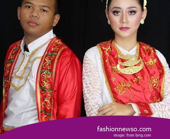 Example Of Design Clothes Traditional South Kalimantan