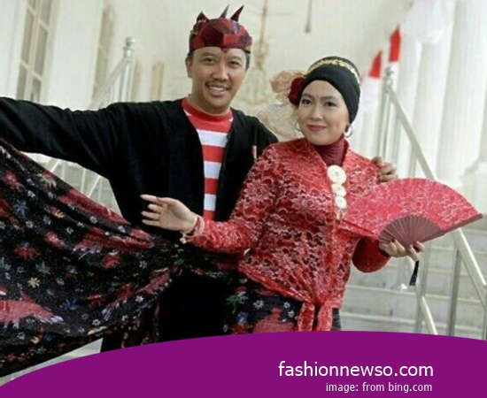 Example Of Model Apparel Traditional Manado