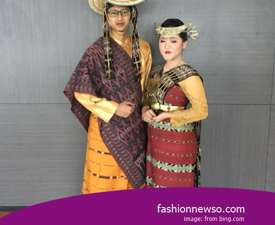 Example Of Model Apparel Indigenous Bengkulu