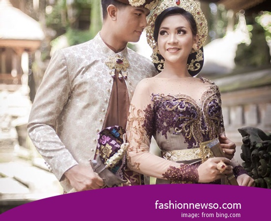 Manufacturer Of Fashion Typical Traditional Brides Kebaya Central Java bastions In Indonesia
