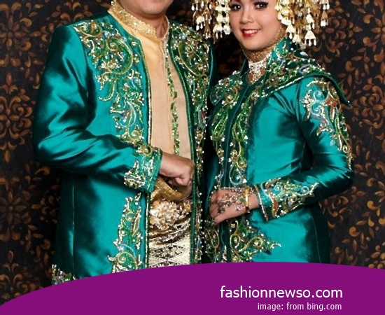Various Motif Of Apparel Distinctive Weddings Ulee Balang Aceh In Indonesia