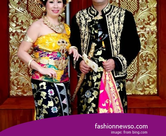 Various Type Of Fashion Traditional Weddings Ulee Balang Aceh In Indonesia