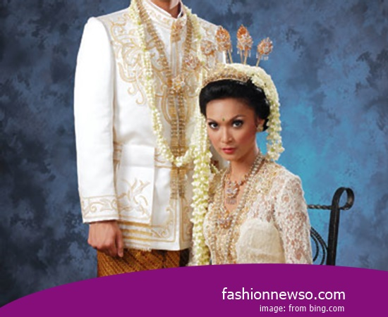 Various Type Of Apparel Traditional Weddings Gorontalo In Indonesia
