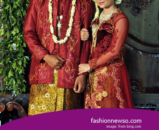 Various Motif Of Fashion Typical Traditional Brides Lombok NTB In Indonesia