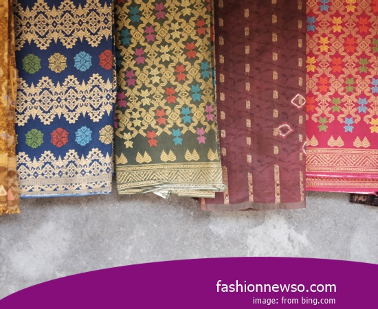 Sorts Models Fabric Songket Traditional Labuan Bajo In Indonesia