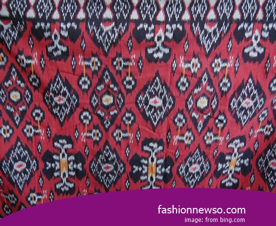 Multiple Models Fabric Songket Traditional Black In Indonesia