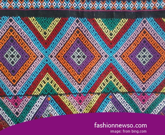 Sorts Models Ulos Fabric Traditional Maluku In Indonesia