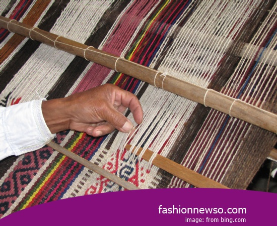 Sorts Models Fabric Songket Traditional Alor In Indonesia
