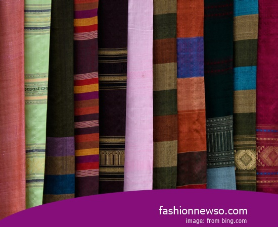 Sorts Models Fabric Songket Traditional Maumere In Indonesia