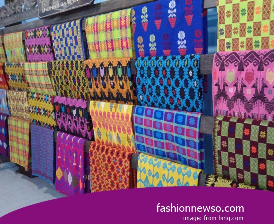 Wholesale Place Of Ulos Fabric Traditional Typical NTT In Indonesia