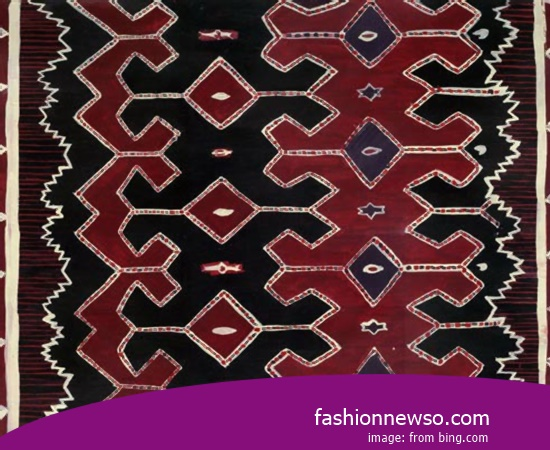 Sorts Models Fabric Songket Traditional Mamasa In Indonesia