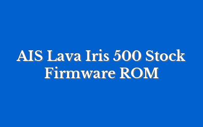 AIS Lava Iris 500