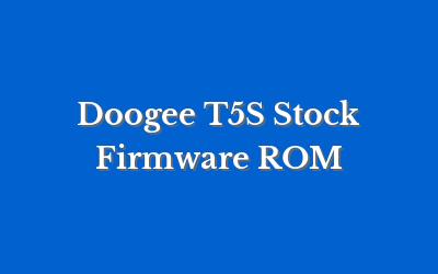 Doogee T5S