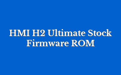 HMI H2 Ultimate