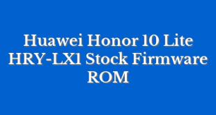 Huawei Honor 10 Lite HRY-LX1