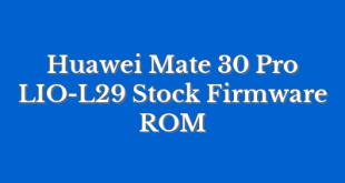 Huawei Mate 30 Pro LIO-L29