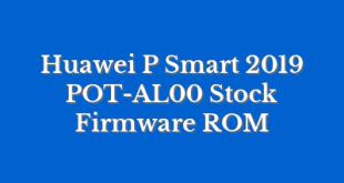 Huawei P Smart 2019 POT-AL00