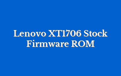 Lenovo XT1706