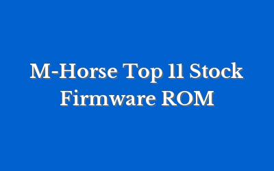 M-Horse Top 11
