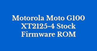 Motorola Moto G100 XT2125-4