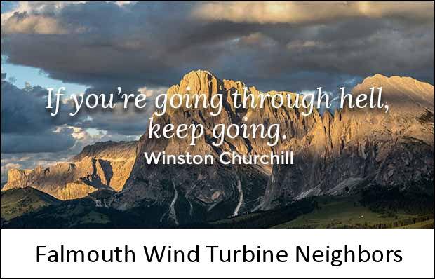 Falmouth Wind Turbine Neighbors