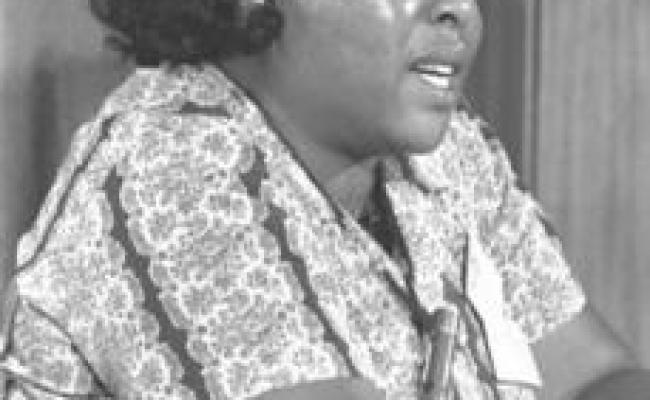 Gariwo The Gardens Of The Righteous Fannie Lou Hamer