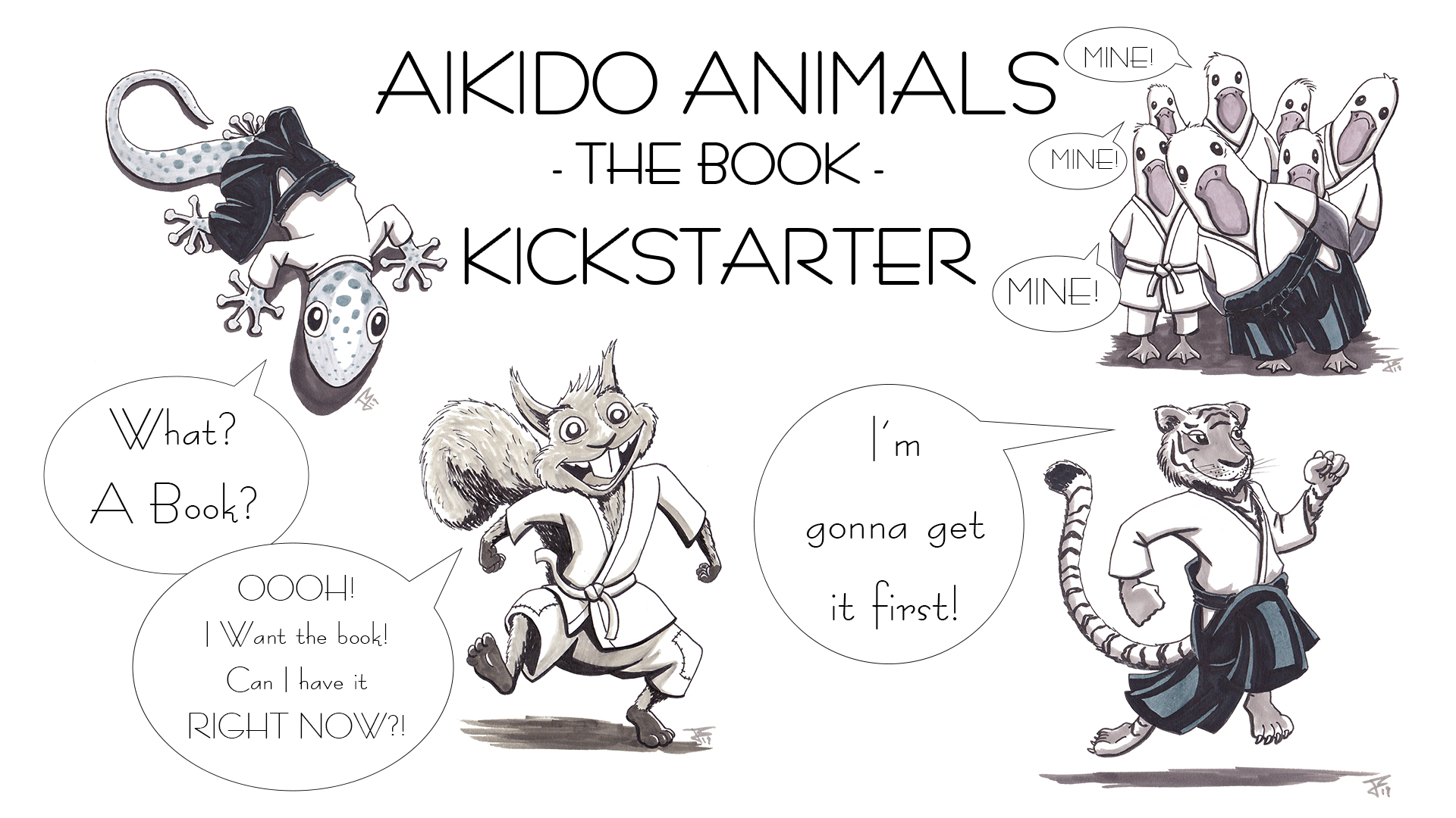 Aikido Animals Kickstarter