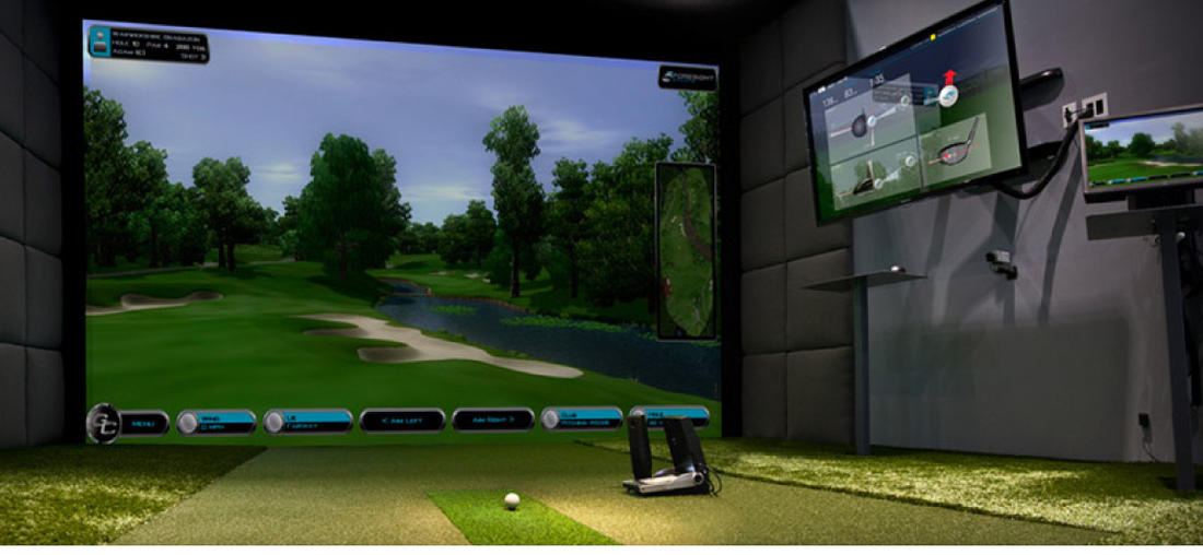 Golf Simulators  Products  Golfpark