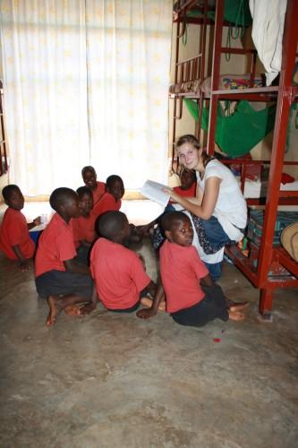 Volunteer Nadine Kugler
