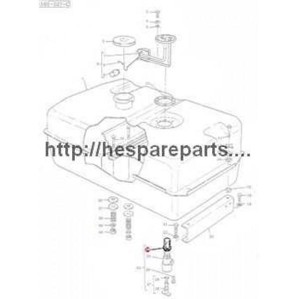 1851654M1 Massey Ferguson: Filter Fuel Stop Valve