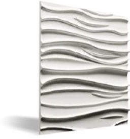 HTS-Germany - COMO 3D-wall panels of gypsum