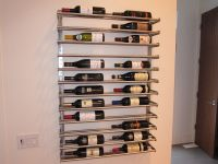 Shelf for wine from rods for IKEA GRUNDTAL Towel