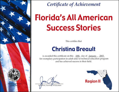 Florida's All American Success Stories