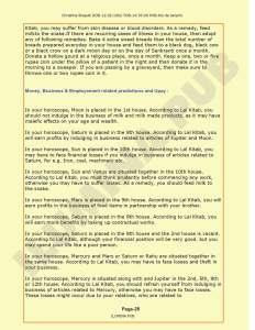 Lal-Kitab Predictions & Remedies Report - Page 25