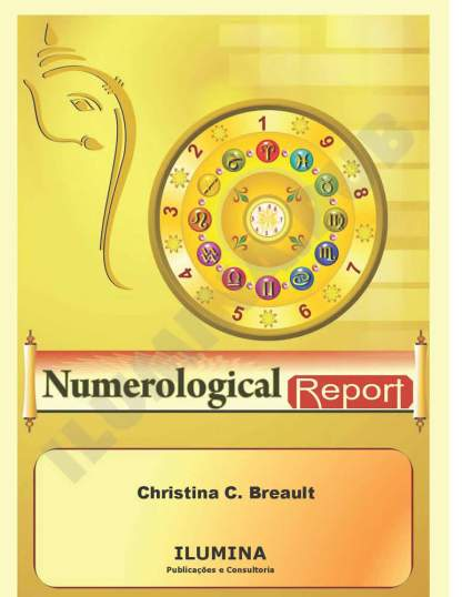 Vedic Numerology Report - Cover