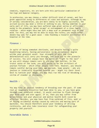 Vedic Numerology Report - Page 18