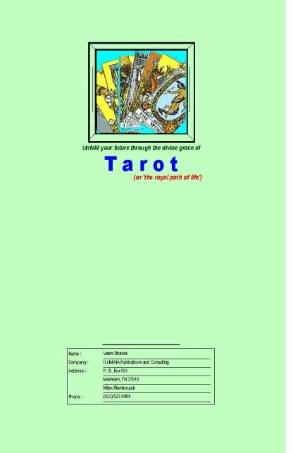 Taroscope Report - Cover Page